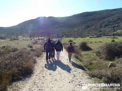 Senderismo Sierra Norte Madrid - Belén Viviente de Buitrago;senderos comunidad valenciana
